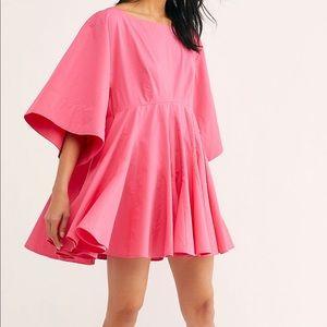 Free People Girl Like You Babydoll Cotton Dress